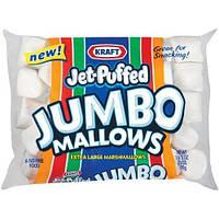Огромное маршмеллоу Jet-Puffed Jumbo Mallows marshmallows 680g