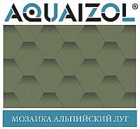 ОПТ - Акваизол ЭТАЛОН Мозаика Альпийский луг Битумная черепица (3 м2/уп)