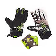 Перчатки FOX (mod:Monster, size:L, черно-белые)