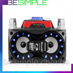 Портативная блютуз колонка DJ787 / Акустическая система / Беспроводная Bluetooth колонка