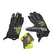Перчатки FOX (mod:Monster, size:L, черные)