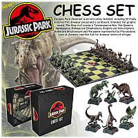 Шахматы Парк Юрского периода Jurassic Park Chess Set