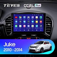 Штатная магнитола Teyes Nissan Juke 2010-2014 Android