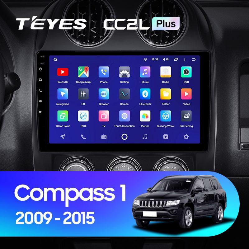 Штатная магнитола Teyes Jeep Compass 2009-2015 Android