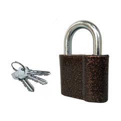 Замок навесной Тандем ВС-1 3 ключа