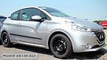Молдинги на двері для Peugeot 208 3 Door Hatch 2012-2019, фото 3
