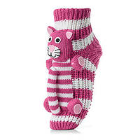 Женские детские носки ATTRACTIVE  3 D игрушка кот