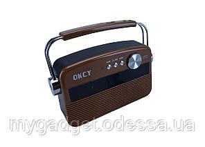 Универсальная  портативная колонка-радио Okcy A11