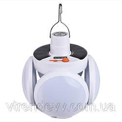 Фонарь лампа для кемпинга подвесной на аккумуляторе JG 2029 USB