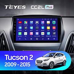 Штатная магнитола TEYES Hyundai Tucson 2  2009 - 2015 Android 10