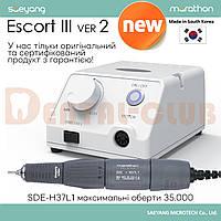 Saeyang Marathon Escort III ver2 New - мікромотор зуботехнічний з наконечником H37L1 35000 об/хв