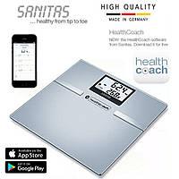 Весы диагностические с Bluetooth, Sanitas SBF 70, Германия