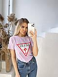 Жіноча футболка Guess різні кольори, фото 2
