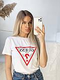 Жіноча футболка Guess різні кольори, фото 4