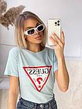 Жіноча футболка Guess різні кольори, фото 5