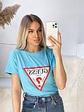 Жіноча футболка Guess різні кольори, фото 6
