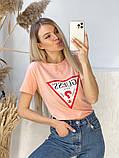 Жіноча футболка Guess різні кольори, фото 7
