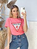 Жіноча футболка Guess різні кольори, фото 10