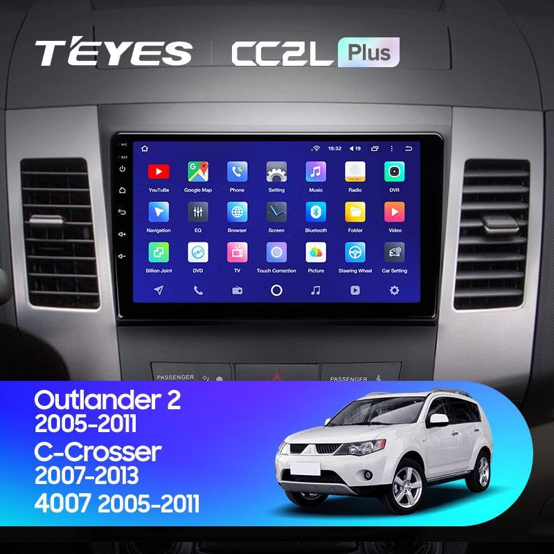 Штатная магнитола Teyes Mitsubishi Outlander 2005-2011г