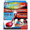 Воздушные фломастеры Airbrush Magic Pens E 018 аэрограф с подставкой, фото 6