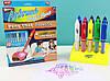 Воздушные фломастеры Airbrush Magic Pens E 018 аэрограф с подставкой, фото 5