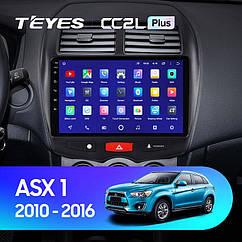 Штатная магнитола Teyes Mitsubishi ASX 2010-2016 Android