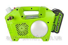 Компресор повітряний акумуляторний Greenworks G40AC, фото 2