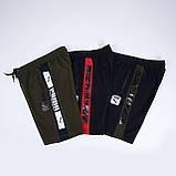 Чоловічі трикотажні шорти PUMA, темно-синього кольору., фото 4
