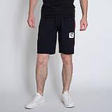 Чоловічі трикотажні шорти PUMA, темно-синього кольору., фото 3