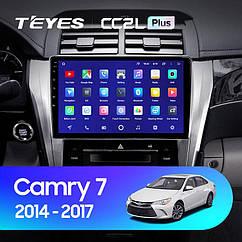Штатная магнитола Teyes  Toyota Camry 50 2014-2017г Android