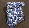 Треугольная подушка с валиком под шею с наволочкой в комплекте., фото 5