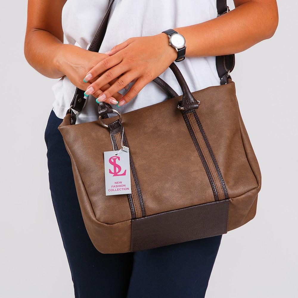 ce113bb84797 Наплечная мягкая сумка коричневый сатин 1358: продажа, цена в Днепре ...