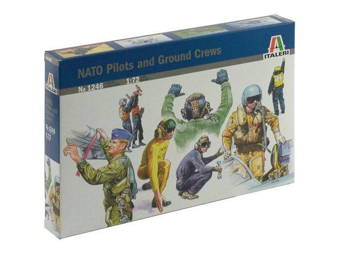 Italeri 1/72 NATO Pilots and ground crew