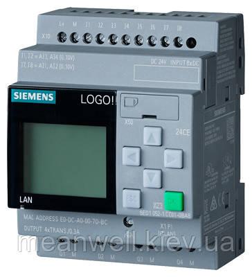 6ED1052-1HB00-0BA8 LOGO!24RCE Логический модуль Siemens LOGO!8