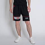 Чоловічі трикотажні шорти PUMA,чорного кольору., фото 2