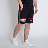 Чоловічі трикотажні шорти PUMA,чорного кольору., фото 4