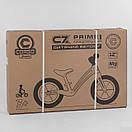 """Велобіг від Corso """"Prime C7"""" 84209 , колесо 12"""", магнієва рама, задні ручні гальма, фото 6"""