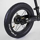 """Велобег Corso """"Prime C7"""" 84209 , колесо 12"""", магниевая рама, задний ручной тормоз, фото 5"""
