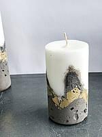 Свеча малая с бетонным основанием, фото 1