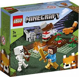 Lego Minecraft Приключения в тайге 21162