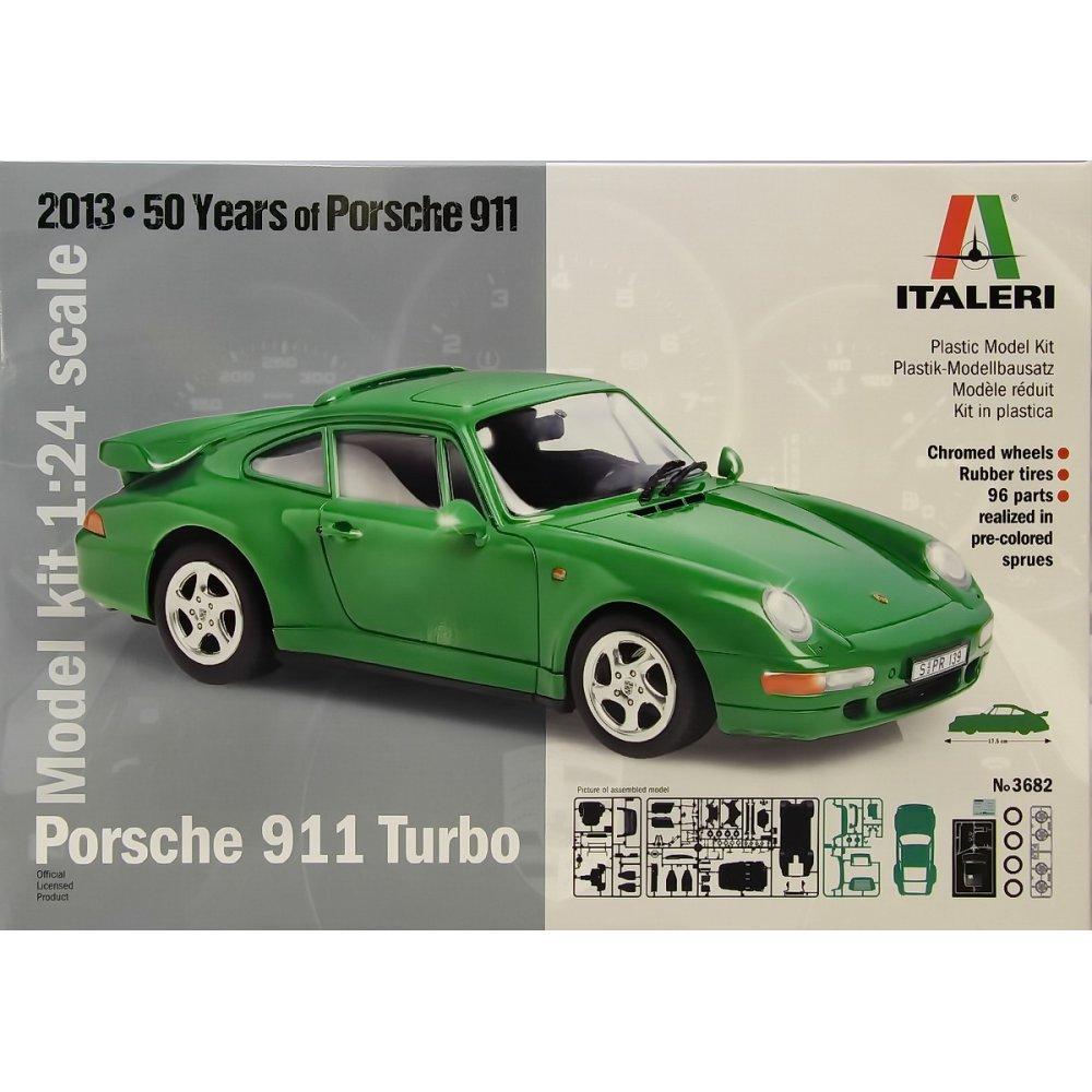 Italeri 1/24 Porsche 911 Turbo