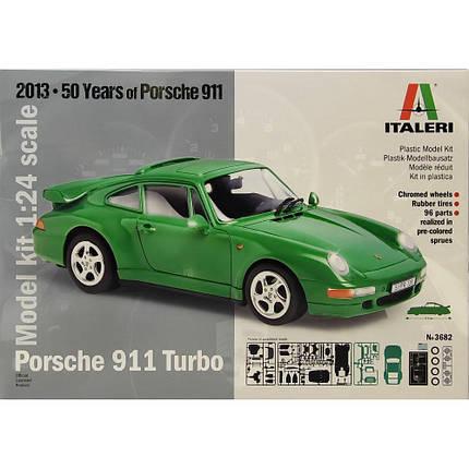 Italeri 1/24 Porsche 911 Turbo, фото 2