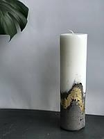 Свіча велика з бетонним низом