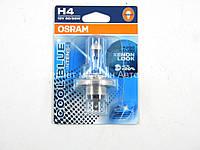 Галогенная лампа H4 (+20%) 12V 60/55W OSRAM (Германия) 64193CBI01B