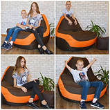 Крісло мішок, крісло-груша, крісло подушка, безкаркасне крісло Болід - великий розмір !Комфортний всім ! Тканина, фото 9