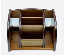 Органайзер, подставка офисная, для канцтоваров под дерево № XD5031-1
