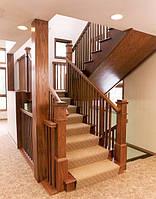Лестница - массив ясеня