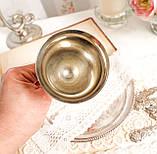 Посеребренный винный бокал, серебрение, мельхиор, Англия, Falstaff SILVER PLATE, фото 4