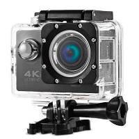 Экшн камера 4K Wi-Fi для подводной сьемки начинающих блогеров активного отдыха Мини камера с набором креплений