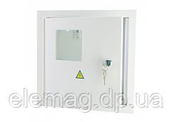 Щиток электрический внутренний на 4 модуля и под электронный счетчик
